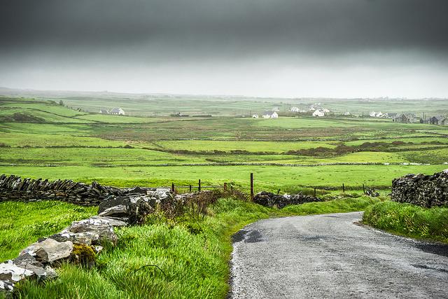 Irish countryside, Liscannor, Ireland
